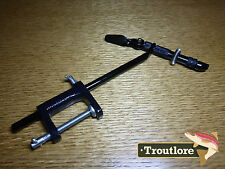 SUPER AA VISE CLAMP BASE BLACK FLY TYING VISE - NEW FLY FISHING DESK TOOL