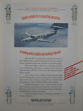 6/1993 PUB AVION PILATUS PC-12 BUSINESS AIRCRAFT FLUGZEUG PARIS AIR SHOW AD