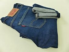 FB1239 Men Levi Strauss & Co 508 Blue Tapered Jeans Size W29 L32