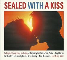SEALED WITH A KISS - 3 CD BOX SET - SAM COOKE, EVERLY BROTHERS & MORE