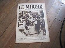 JOURNAL LE MIROIR 338 13 juin 1920 commune montmartre inaugure statue depaquit