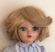 Uneeda Dollikin 2S BJD Multi Joint Ball Jointed Doll 1950s Blond Green Eyes 19in