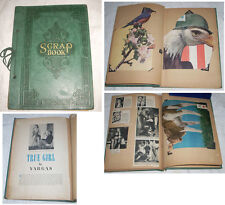 Vintage 1944 WWII Era Eclectic Scrapbook Patriotic Traditional Vargas More