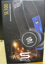 SOUL by Ludacris SL100 High-Def Sound Isolation Headphones in Carry Case