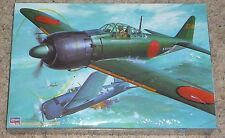 Hasegawa 1/32 Scale Zero A6M5c Japanese WWII Fighter Model Kit NEW