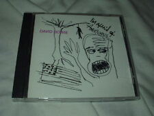 DAVID BOWIE I'm Afraid of Americans CD 4-Track Promo Nine Inch Nails Ice Cube