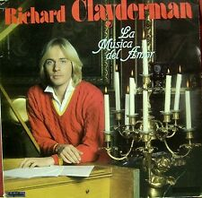 RICHARD CLAYDERMAN-LA MUSICA DEL AMOR LP VINILO 1983 SPAIN GOOD COVER-EXCELLENT