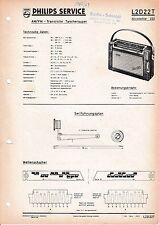 Service Manual-Anleitung für Philips L2D222T,Nicolette 222