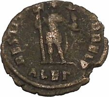 Valentinian I w labarum 364AD Ancient Roman Coin Possibly Unpublished i42531