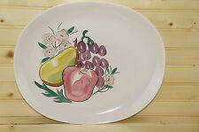 """Red Wing Fruit Oval Serving Platter 13 3/8"""" x 11 1/4"""""""