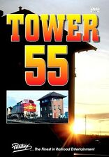 TOWER 55 PENTREX DVD SANTA FE, UP, AMTRAK, SOUTHERN PACIFIC
