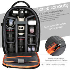 Shockproof Waterproof DSLR SLR Camera Backpack Bag Case for Nikon Canon Sony
