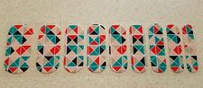 Jamberry Nail Wraps - Half Sheet of June 2013 Hostess Exclusive Retired VHTF!