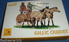 HAT 8139. GALLIC CHARIOT. 1/72 SCALE PLASTIC FIGURES.