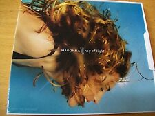 MADONNA RAY OF LIGHT  CD SINGOLO MINT- 4 TRACKS FLP CASE