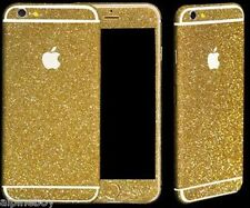 Full Body Wrap Decal Vinyl Glitter Sticker Skin Cover For iPhone 5, 5c 6 7 Plus