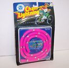 New! Vintage 1988 Chain Lightning Bike Chain Cover (Pink) {3046}