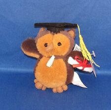 Ganz - Plush Owl - Graduation Money Holder - Have a Hoot with This Loot! - NEW