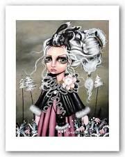 FANTASY ART PRINT Angora Angelina Wrona 9x11.25