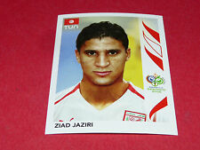 584 ZIAD JAZIRI TUNISIE PANINI FOOTBALL GERMANY 2006 WM FIFA WORLD
