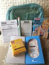 Baby Deluxe 7pc Kit Air Travel Clear Case plus A&D To Go and Cottonelle Cloths