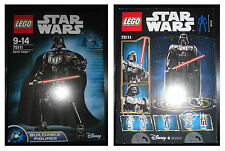 LEGO Set 75111 STAR WARS Darth Vader Buildable Figure Componibile 28,5 cm