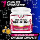 DECABOLIC CREATINE : STRONGEST ANABOLIC MUSCLE MASS SIZE BOOSTER : NO STEROIDS
