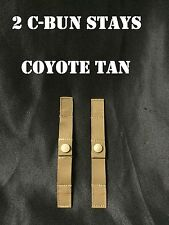 MOLLE CUMBERBUN STAY STAYS COYOTE TAN SNAP LOOP USMC EAGLE IND LOT of 2 NEW