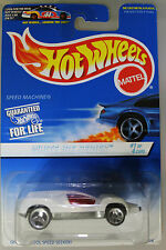Hot Wheels 1:64 Scale 1996 White Ice Series SPEED MACHINE