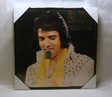 "ELVIS PRESLEY Framed Album Cover / Jacket  ""Canadian Tribute"" 12x12  Pop"