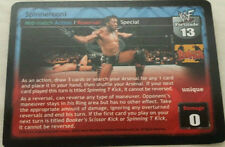 Raw Deal WWE WWF Spinnerooni Promo card 17 Mint !