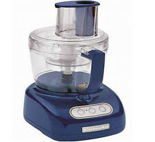New KitchenAid 12 Cup WIDE MOUTH BIG Food Processor Blue Willow  kfpw761bw Super