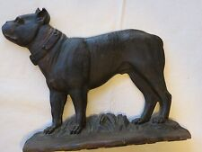 BRADLEY & HUBBARD FIGURAL BULL DOG CAST IRON DOOR STOP RARE Antique doorstop