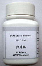 4 x Gui Pi Wan herbal tablets, help for insomnia amnesia palpitation tiredness
