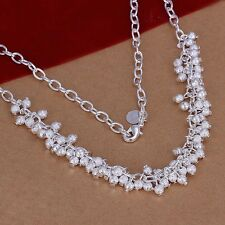 925 Sterling Silver Necklace Pendant Balls B14