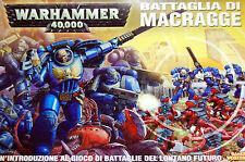 Warhammer 40k Adeptus Astartes Ultramarines Space Battle for Macragge OOP Box GW