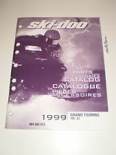 SKIDOO 1999 PARTS AND ACCESSORIES CATALOG MANUAL GRAND TOURING  700 / SE