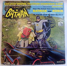 1966 LP * Nelson Riddle ‎BATMAN * Exclusive Original Television Soundtrack Album