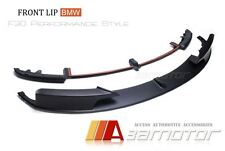 Unpainted PP Front Lip Spoiler for BMW F30 F31 3-Series M Tech M Sport Bumper