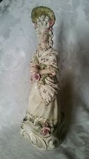 "Vintage RARE Cordey Lady Figurine Figurine 11"" #5087 OUTSTANDING CONDITION"