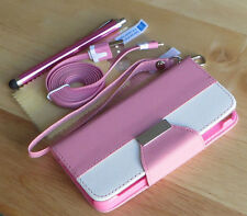 PU Leather Flip Pouch Wallet Stand Case Cover For SAMSUNG GALAXY S3 i9300 - Pink