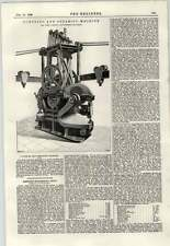 1897 Punching And Shearing Machine John Cameron Manchester