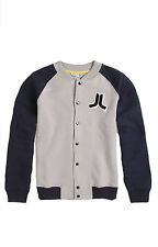 NEW WESC MENS GUYS VARSITY RAGLAN JACKET FLEECE SWEATSHIRT BASEBALL COAT TOP XL
