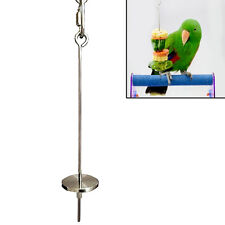 "4.7"" Stainless Steel Skewer Toy Treat Bird Parrot Food Fruit Holder Stick Tool"