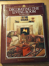 Decorating the Living Room by Home Decorating Institute Staff (Hardcover)s#4956