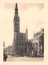 Foto beim Reichsarbeitsdienst in Danzig 1943 Rathaus
