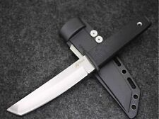 Top-Quality Square Head Non-slip Handle Outdoor Bowie Knight Combat Knife FK16