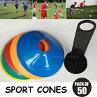 Personal Fitness Pack Sports Training Discs Markers Cones Soccer Afl Exercise