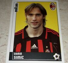 FIGURINA CALCIATORI PANINI 2006/07 MILAN SIMIC ALBUM 2007