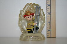 Hamilton Figurine - In God's Hands - Bless This Firefighter When Danger Is Near